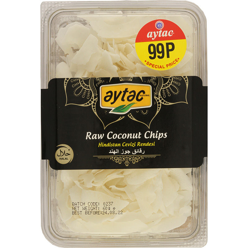 Aytac Raw Coconut Chips 150g