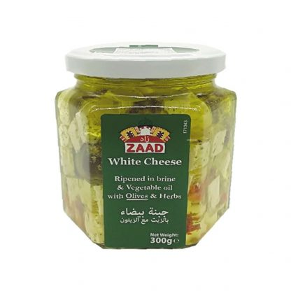 Zaad White Cheese With Olives
