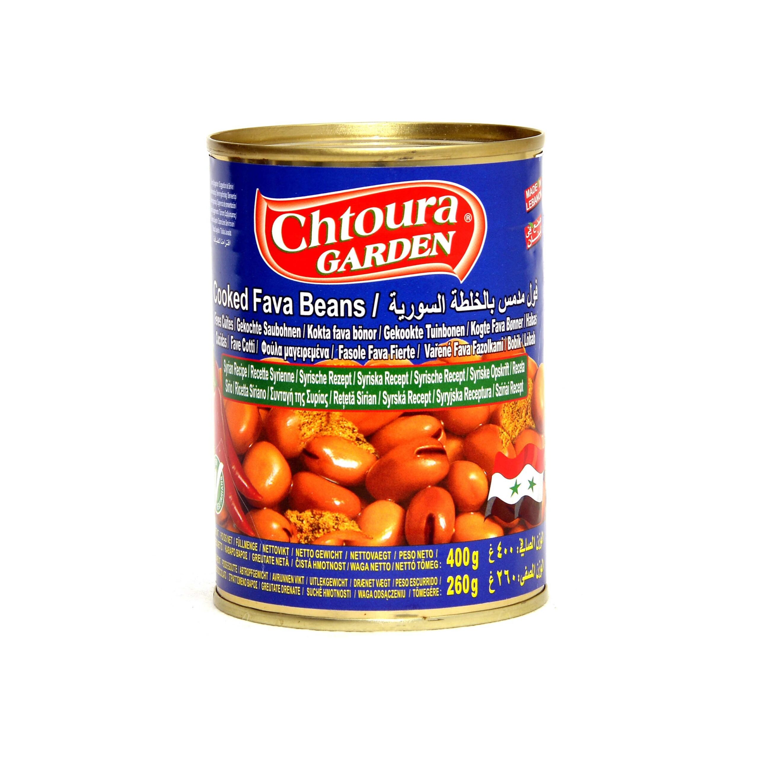 Chtoura Cooked Fava Beans Syrian Recipe