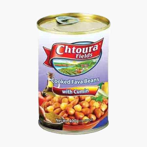 Chtoura Cooked Fava Beans With Cumin