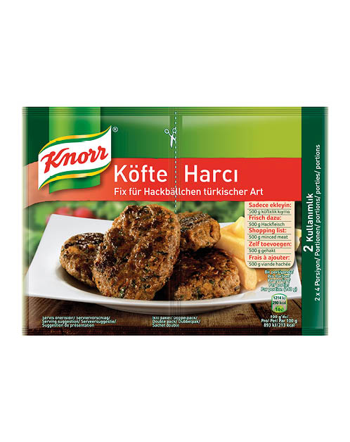Knorr Mix For Turkish Style Meatballs