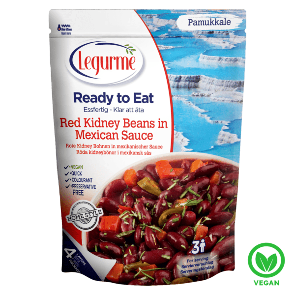 Legurme Red Kidney Beans In Mexican Sauce