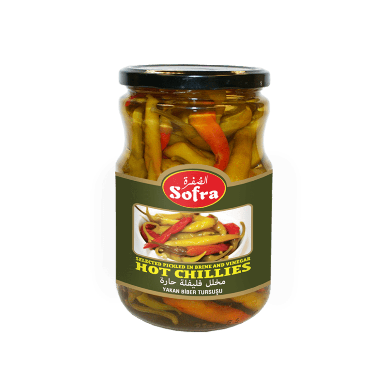 Sofra Pickled Hot Chilies