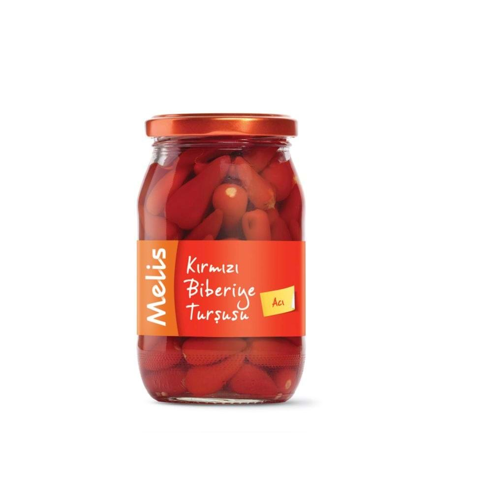 Melis Pickled Baby Red Hot Pepper 370cl