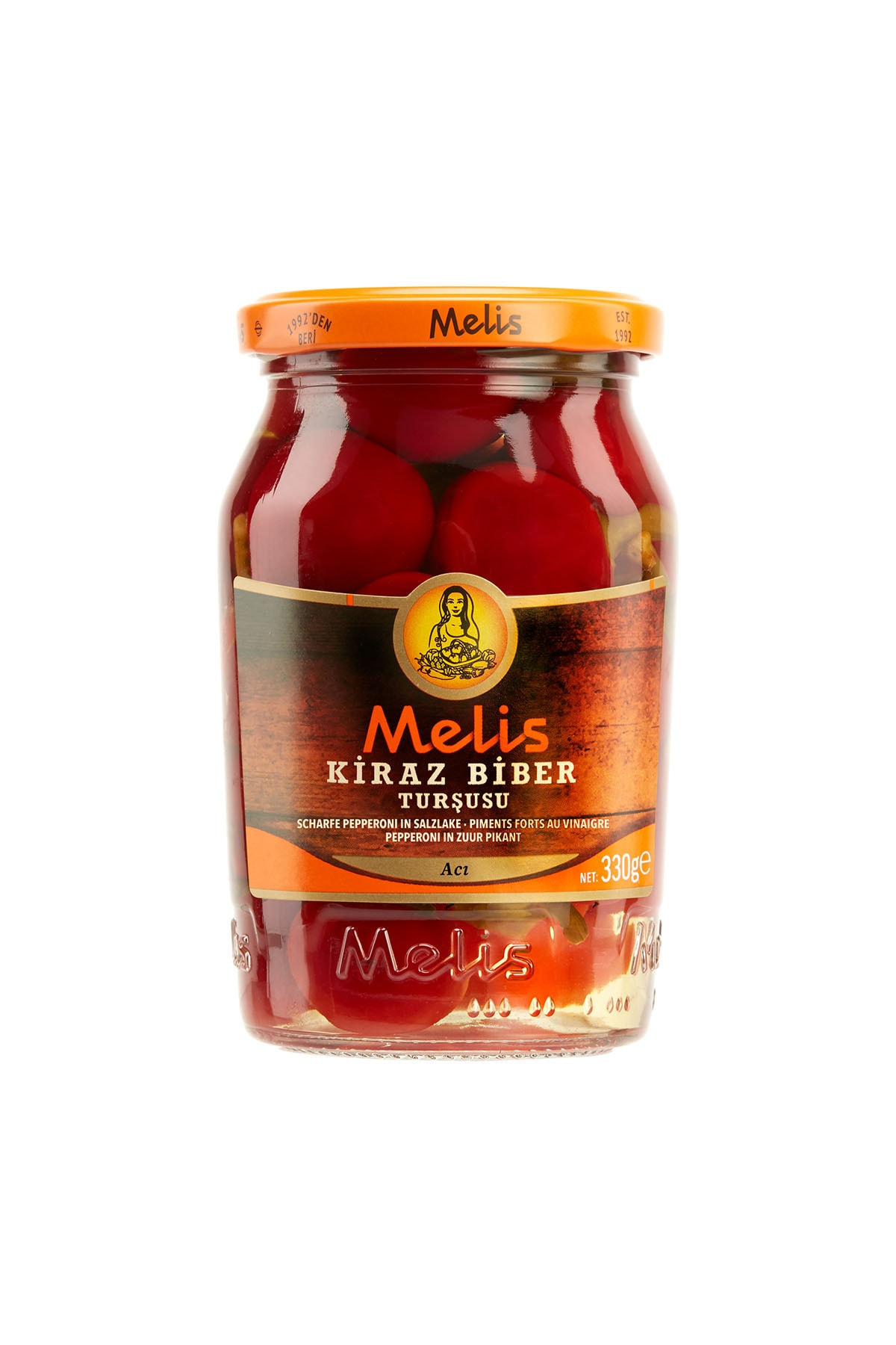 Melis Pickled Cherry Pepper 370cl