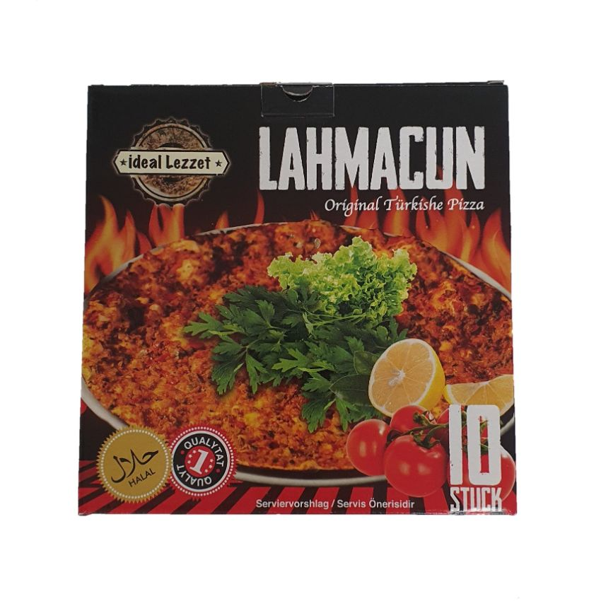 Ideal Lezzet Turkish Pizza Pack of 10
