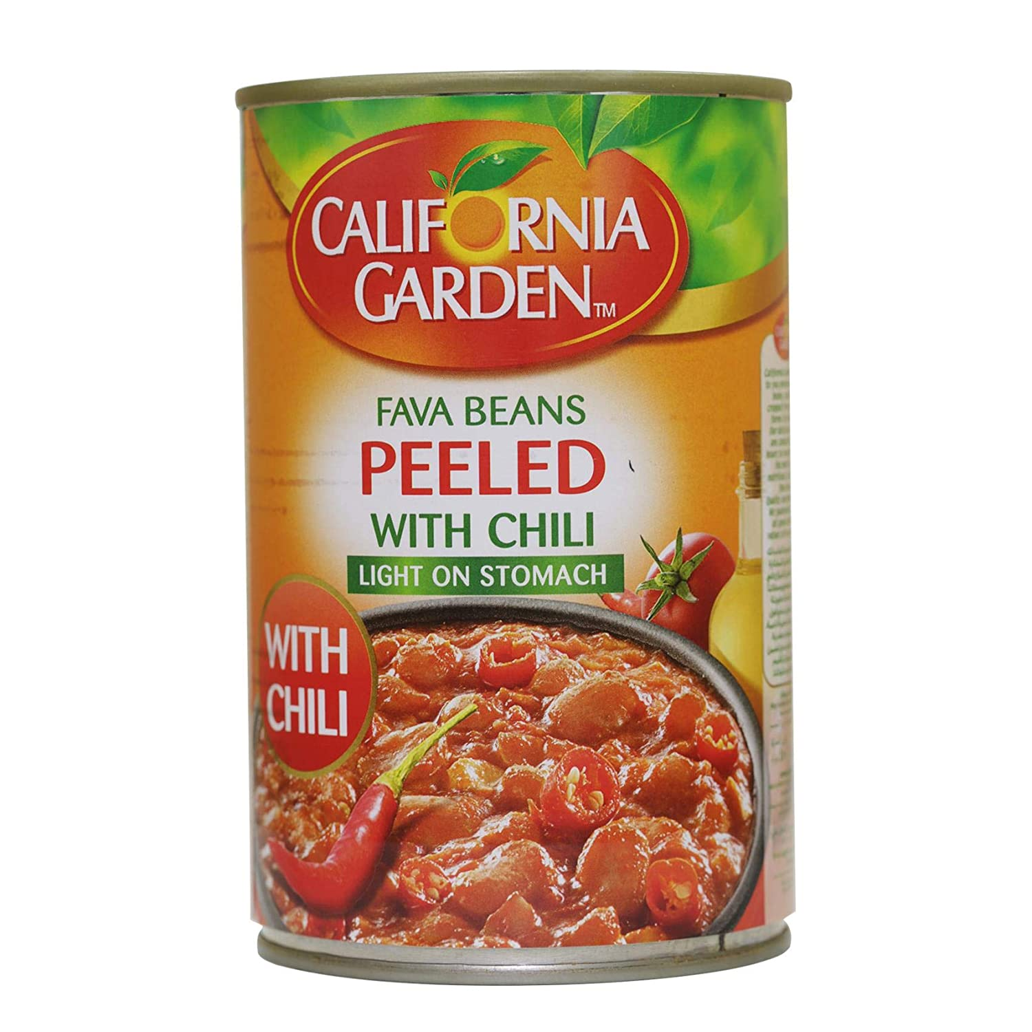 California Garden Peeled Fava Beans With Chilli