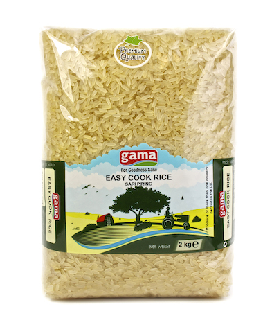 Gama Easy Cook Rice  2kg