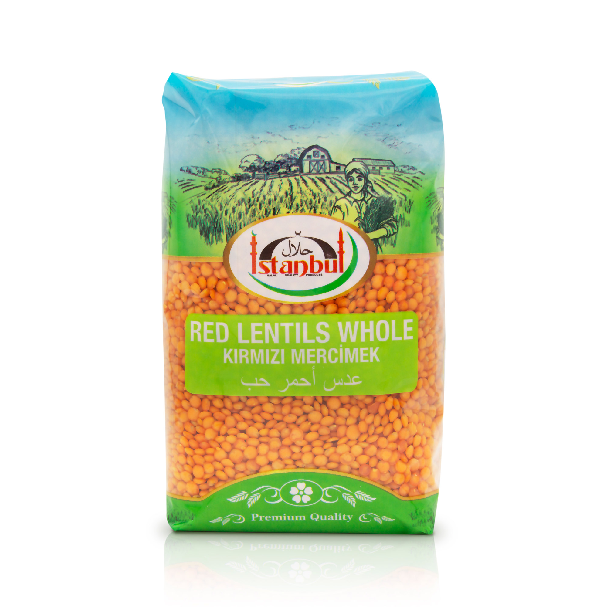 Istanbul Red Lentils Whole 1kg