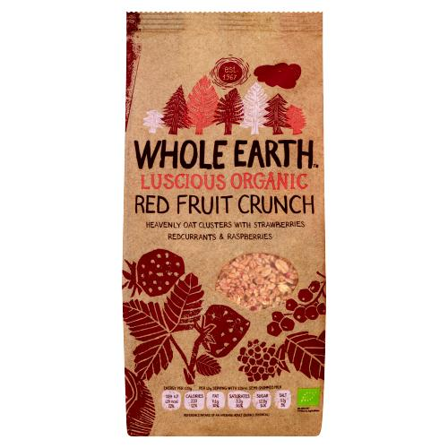Whole Earth Luscious Organic Red Fruit Crunch