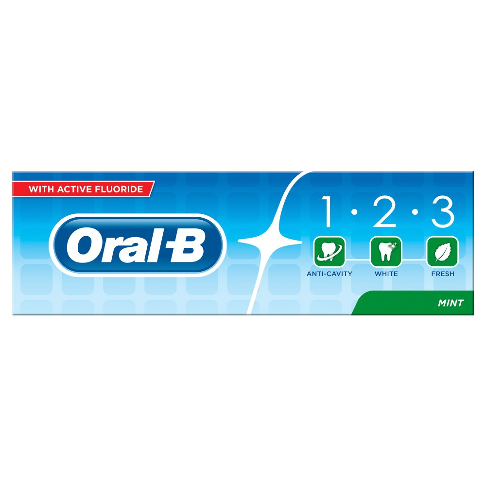 Oral B With Active Fluoride