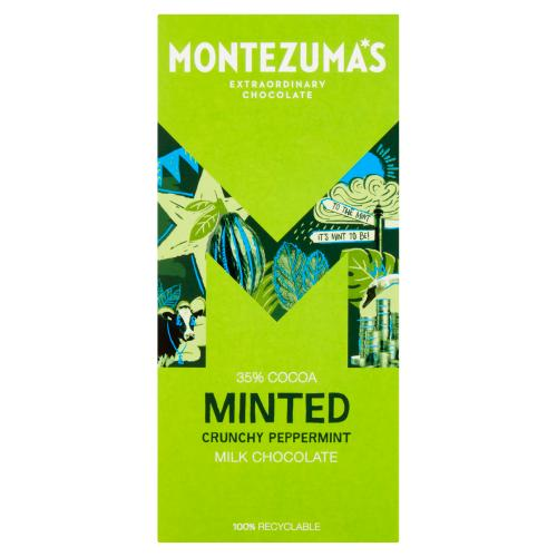 Montezumas Minted – Milk Chocolate With Peppermint