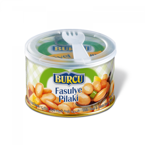 Burcu Canned White Beans In Tomato Sauce